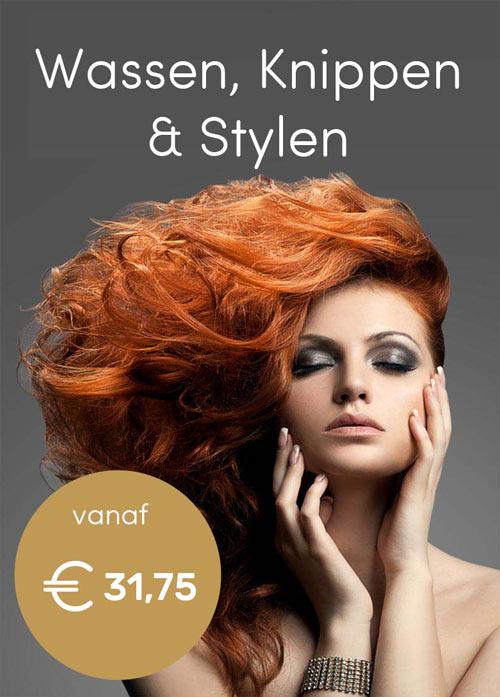 Tarieven Nanja Hairstyling